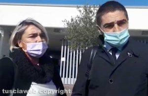 Gli avvocati Serena Gasperini e Daniele Fabrizi