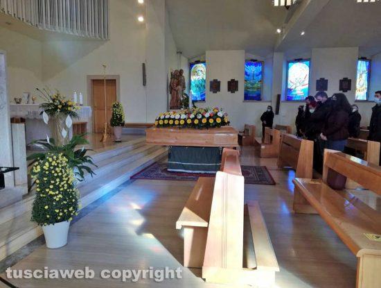 Viterbo - I funerali di Marco Olimpieri