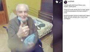 Bagnoregio - San Raffaele Arcangelo Covid-free - L'annuncio su Facebook del sindaco Luca Profili