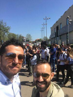 Vitorchiano - Federico Cruciani, assessore all'Ambiente, e Alessandro Vagnoni, consigliere comunale delegato a turismo e innovazione tecnologica