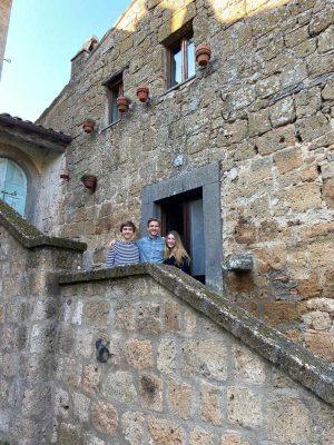 Alec Ross a Civita di Bagnoregio