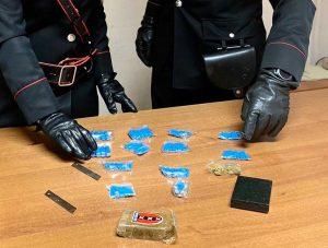 Ladispoli - Carabinieri - La droga sequestrata