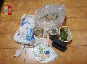 Civitavecchia - Droga e denaro trovati dalla polizia