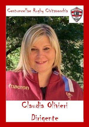 Civitavecchia - Claudia Olivieri, accompagnatore/dirigente Under 16 -18 delle fiamme oro/crc