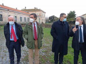 Il sottosegretario all'ambiente Roberto Morassut visita l'Anbi Lazio