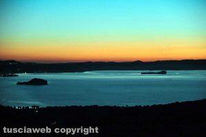 Il tramonto del 2020 nella Tuscia - Foto di Maurizio di Giovancarlo (Tuscia Fotografia)
