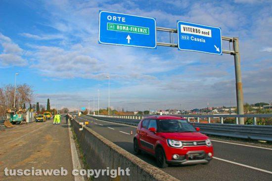 Viterbo - La riapertura della superstrada