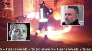Mafia viterbese - Nei riquadri Manuel Pecci (a sinistra) e il boss Giuseppe Trovato