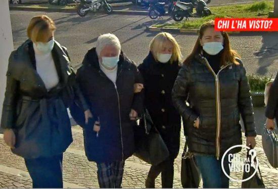 Le donne della famiglia Landolfi in tribunale