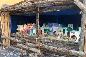 Canepina - Il presepe nella piazza del Comune