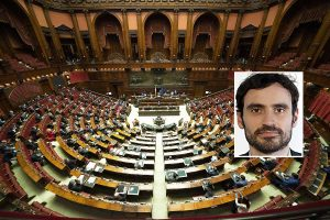 Camera dei deputati - Nel riquadro Gabriele Lorenzoni