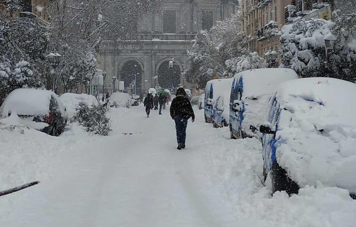 Tempesta di neve in Spagna, tre morti