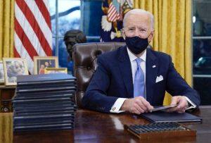Joe Biden alla Casa Bianca