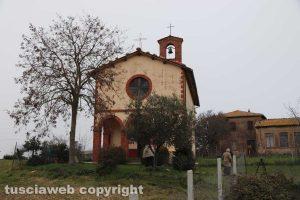 La chiesa di Santa Maria di Castel d'Asso