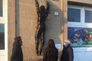 """Viterbo - L'installazione artistica """"Resistentiam"""""""