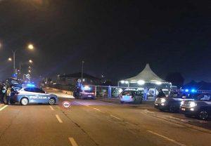 I controlli notturni della polizia