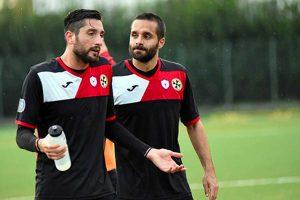Sport - Calcio - Monterosi - Lucatti e Costantini