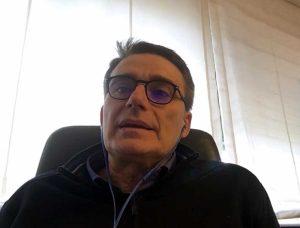 Il sottosegretario Roberto Morassut in collegamento