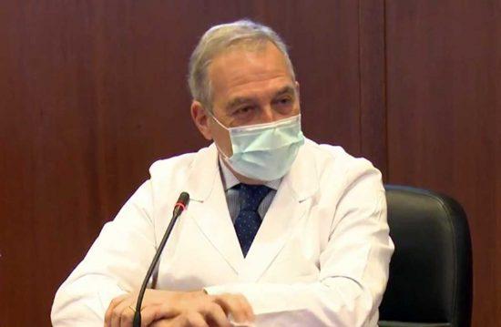 Il direttore sanitario dello Spallanzani Francesco Vaia