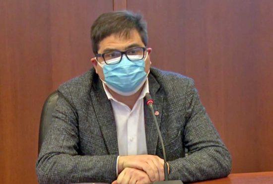 L'assessore alla Sanità del Lazio Alessio D'Amato