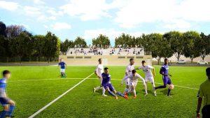 Bassano Romano - Il progetto dello stadio