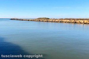 Montalto di Castro - Il mare a gennaio