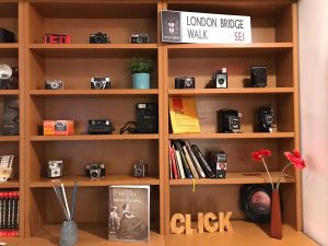 Viterbo - Scuola di fotografia Click - La collezione di macchinette antiche