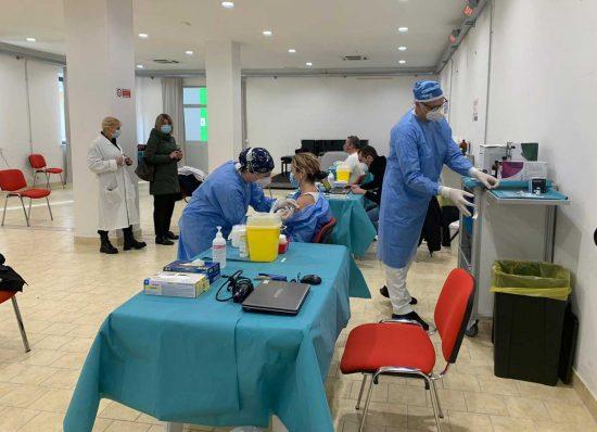 Centro vaccinazioni a Civita Castellana