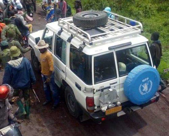 Il convoglio Onu colpito dall'attacco