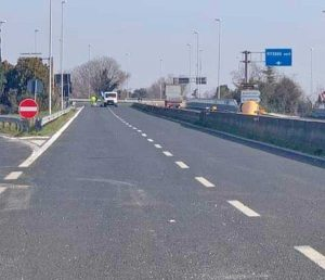 Viterbo - Riaperta la superstrada