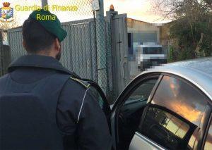 Roma - Guardia di finanza - Controlli a Tor Bella Monaca