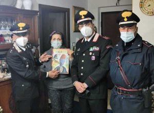 Fara in Sabina - Anziana si sente sola e i carabinieri le vanno a fare compagnia a casa