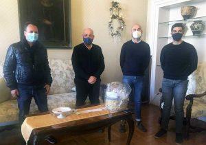 Viterbo - Il Comitato per la salvaguardia del territorio di Corchiano e della Tuscia ricevuto dal prefetto Bruno