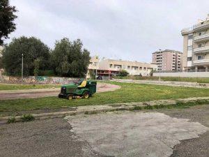 Civitavecchia - San Liborio - Lavori di manutenzione del verde