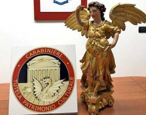 Perugia -Carabinieri - I due angeli del Cinquecento
