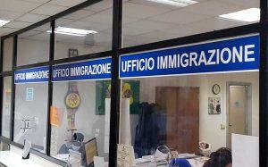 L'ufficio immigrazioni della questura di Terni