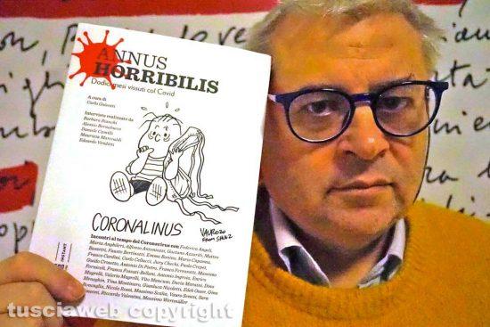 Carlo Galeotti col libro Annus Horribilis