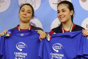 A sinistra Michela De Giovannetti