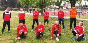 Gli atleti della Alto Lazio
