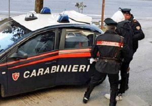 Un arresto dei carabinieri