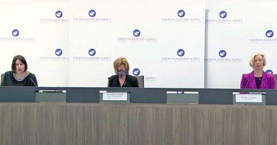 Amsterdam - La conferenza stampa dell'Ema