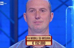 Marco Poleggi ai Soliti Ignoti su Rai1
