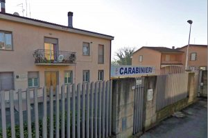 Marta - La stazione dei carabinieri