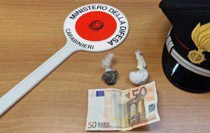 Rieti - La droga sequestrata dai carabinieri