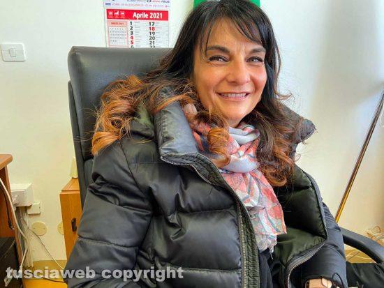 Viterbo - La dirigente scolastica dell'Ellera, Claudia Prosperoni