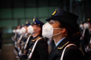 Viterbo - Aeronautica militare - Giuramento solenne per 91 allievi marescialli