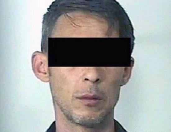 Viterbo - Operazione Libertà - L'arrestato F.I.