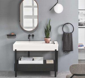Civita Castellana - Plinio, il lavabo di Ceramica Cielo
