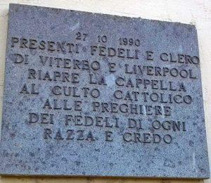 Beato Domenico Barberi - Lapide