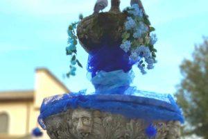 Vetralla si colora di blu